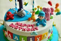 Centro torta cumple Ema