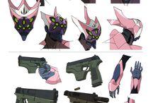 Armas y accesorios
