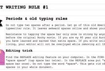 Big Fat Writing Tips