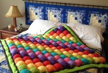 Rainbow Bubble Quilt Áwating