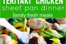 Recipes: Sheet Pan Meals