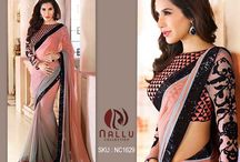 Bollywood Sarees / If you are looking for Latest Bollywood Sarees - Then you have landed in the right destination, Nallu collection presents you with the latest trending sarees of the Bollywood queen celebrities.    http://www.nallucollection.com/bollywood.html