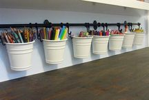 art classroom interior