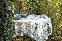 Beauville French linens / Beauville is an exclusive screen print design group manufacturing high end table and kitchen linens plus accessories