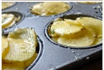 Potatoes in muffin pans