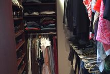 Recent Work Samples / Here are some samples of finished custom closet design and installations for our customers.