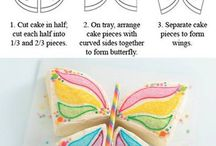 Diy Shaped cakes