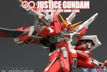 Gundam - Infinite Justice / MG 1/100 Infinite Justice Gundam Modeled by su30mkk