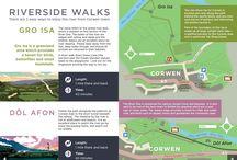 Walks around Corwen / Some lovely walks during your visit to Corwen.