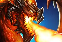 Infinite Myths HD / Cards, mysterious creatures, hard battles and tons of fun!