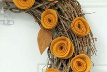 wreaths. / by Katie Hudson
