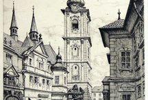 Klatovy, historické fotografie