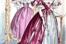 Fashion Plates - Early 1800's