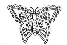 sablonky motylov
