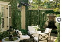 Patio / Outdoor space, full of character, creativity, style and love