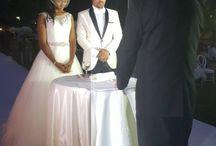 Majid Michel & Wife Renew Marital Vows (Photo)