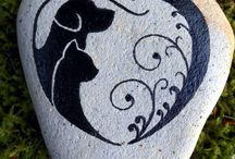 Pintura na pedra