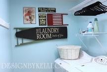 Laundry room ideas / by Debbie Cash