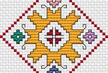 Ρομβος σταυροβελονια