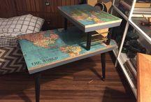 DIY asztal