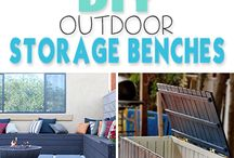 Outdoor Storage Benches