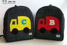 Toddler Backpacks by Josh & Teo