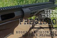 Ruger Precision Rifle RPR Timney Trigger