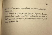 Wonderful words of literature.