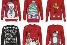 Xmas jumpers / Warm,cozy and fun. Perfect to get into that festive mood / by Izabel London