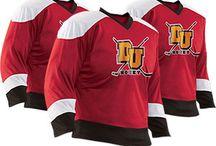 Custom Hockey Uniforms & Apparel / Design custom apparel for players, coaches & fans! http://www.teamsportswear.com/customhockeyjerseys