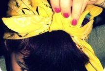Šátky do vlasů