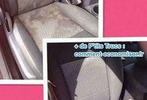 nettoyage sièges voitures
