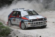 Classic rally cars