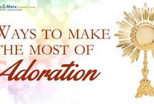 Adoration - Holy Eucharist / 0