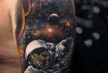 Piercings en tattoo