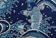 Japanese Quilt Art and Ideas for Quilt / Saving ideas for my king sized Japanese theme quilt. / by Becky Reynolds