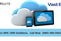 VastEdge ERP+CRM Solutions / Assessment of CRM operations with the use of ERP tools has the major advantage of providing ability to view the ongoing business processes.