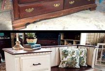 hergebruikte meubels