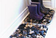 kaminky a kameny