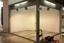 MADE EXPO .. Lavori in corso / Stand Chiri Marmi e Pietre al MADE Expo 2015 di Milano