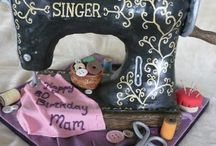 Singer sewing machine / by miriam espaillat
