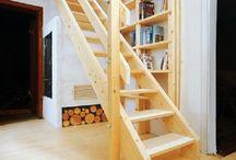 schody na poddasze