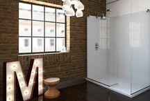 Crebor street loft bathroom