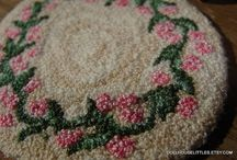 Tiny Rugs, Drapes and Covers / by Peggy Langford
