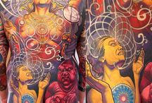 Tattoos by my favorite artists