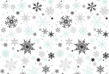 Christmas & Winter Backgrounds / Patterns and backgrounds that can be used for Christmas or Winter themed projects. / by Karen Sumner