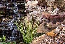 Rockery and Water Features / Creating water features out of Rockery and Boulders