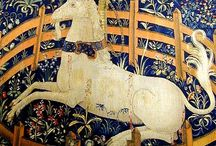 Unicorn tapestries - Middle Age