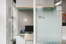 Office interiors - exteriors