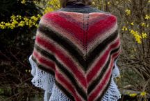 A piece of cake shawl / knitted shawl - free pattern